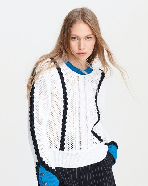 RAG & BONE Celina Cotton Crew
