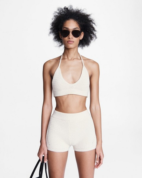 RAG & BONE Lena Cotton Halter Top
