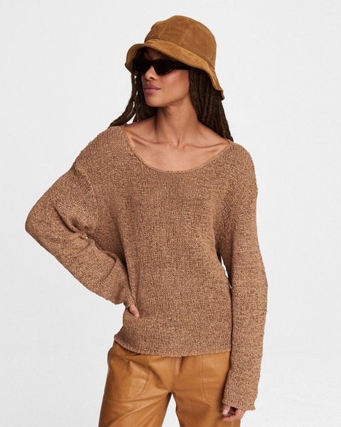 RAG & BONE Tana Nylon Blend Sweater