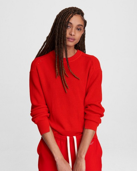 RAG & BONE Ann Cotton Cashmere Crew