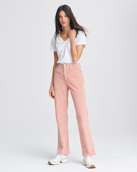 RAG & BONE RUTH SUPER HIGH RISE STRAIGHT CORD