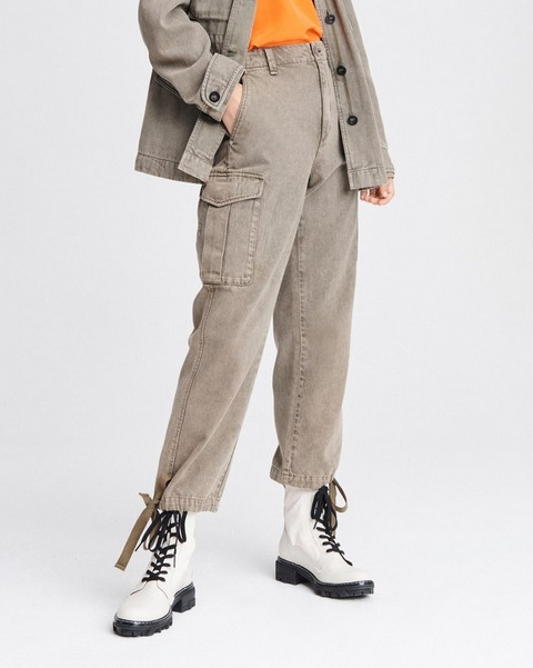 RAG & BONE SUPER HIGH-RISE CARGO