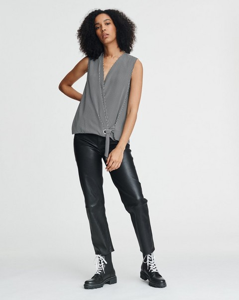 RAG & BONE FELIX SILK BLOUSE