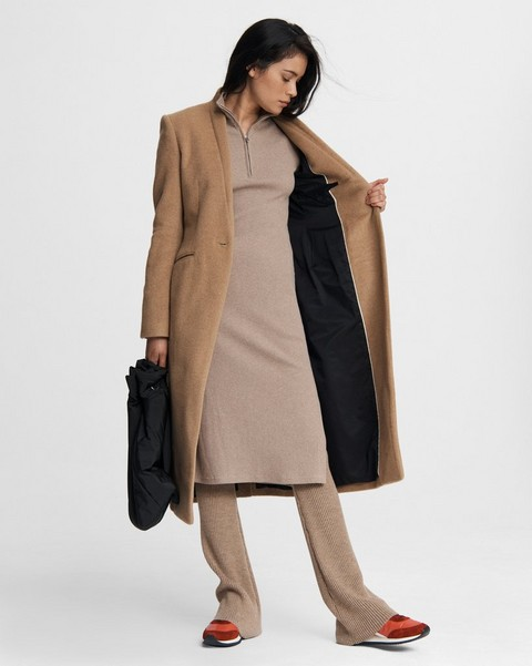 RAG & BONE Liam Camel Hair Coat