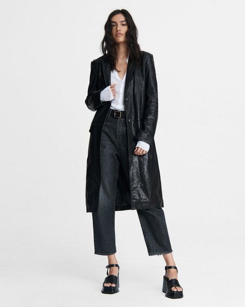 RAG & BONE Trinity Leather Coat