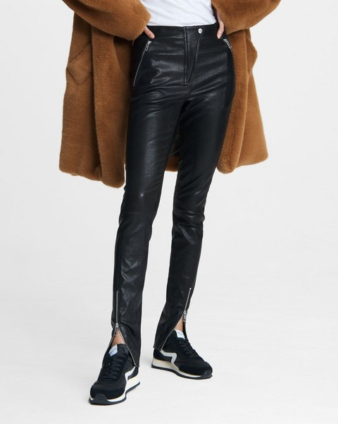 RAG & BONE Simone Pant - Leather Moto