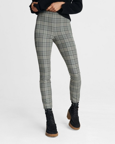 RAG & BONE Simone Pant - Check Equestrian Stretch
