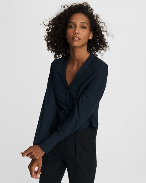 RAG & BONE Victorine Cotton Poplin Shirt