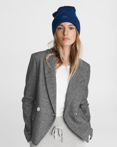 RAG & BONE Cropped Fletcher Wool Blazer