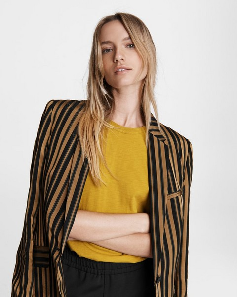 RAG & BONE Striped Andre Viscose Blazer