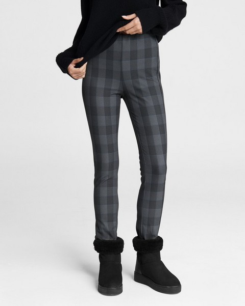 RAG & BONE Simone Pant - Plaid Stretch