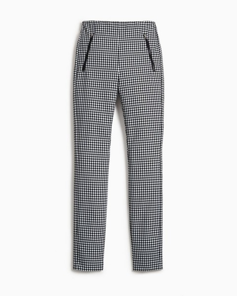 RAG & BONE Simone Pant - Gingham Italian Stretch