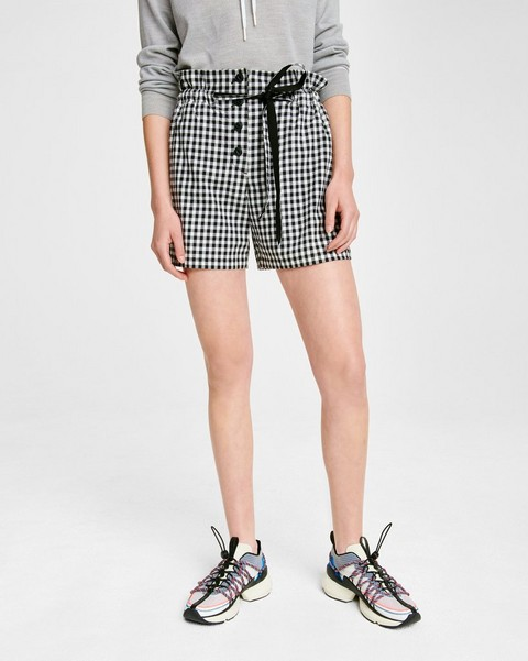 RAG & BONE Camille Cotton Gingham Short