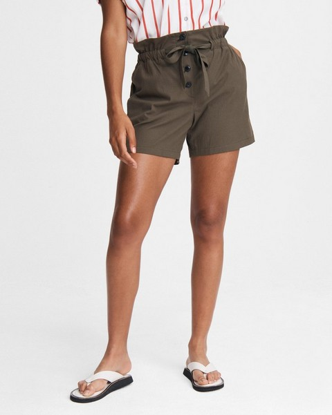 RAG & BONE Camille Cotton Seersucker Short
