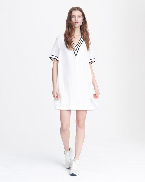 RAG & BONE ALTHEA V-NECK DRESS