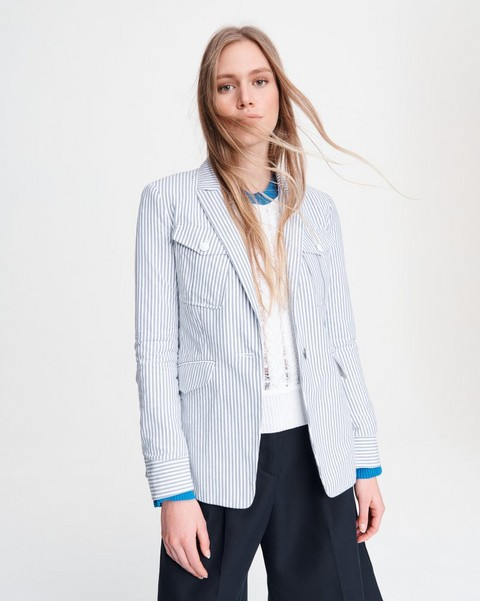 RAG & BONE OWEN STRIPED BLAZER