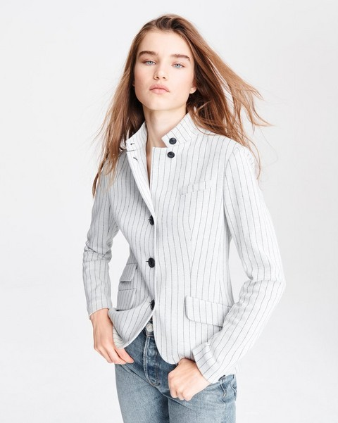 RAG & BONE Slade Cotton Blazer