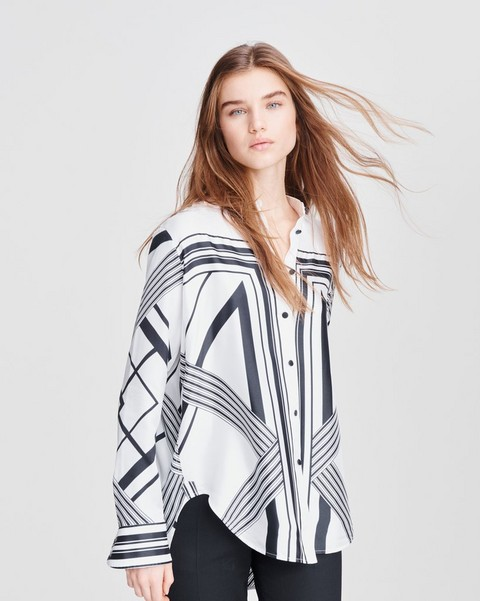 RAG & BONE Isadora Silk Blouse
