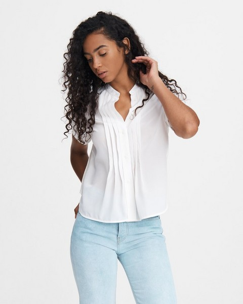 RAG & BONE SARAH SILK BLOUSE