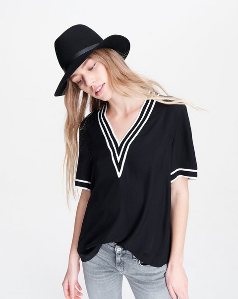RAG & BONE ALTHEA V-NECK TEE