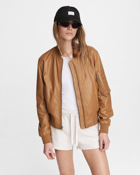 RAG & BONE Manston Leather Bomber