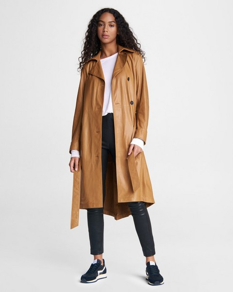 RAG & BONE Classic Leather Trench