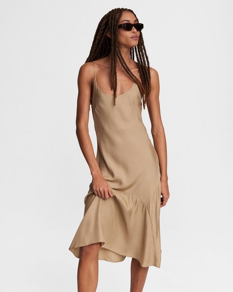 RAG & BONE Eva Slip Midi Dress