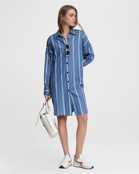 RAG & BONE Sandra Striped Mini Dress