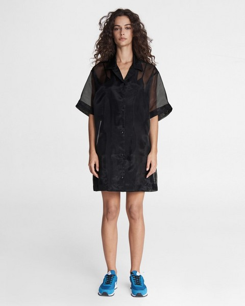 RAG & BONE Reed Mini Shirt Dress