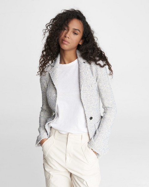RAG & BONE Erin Cotton Blend Blazer