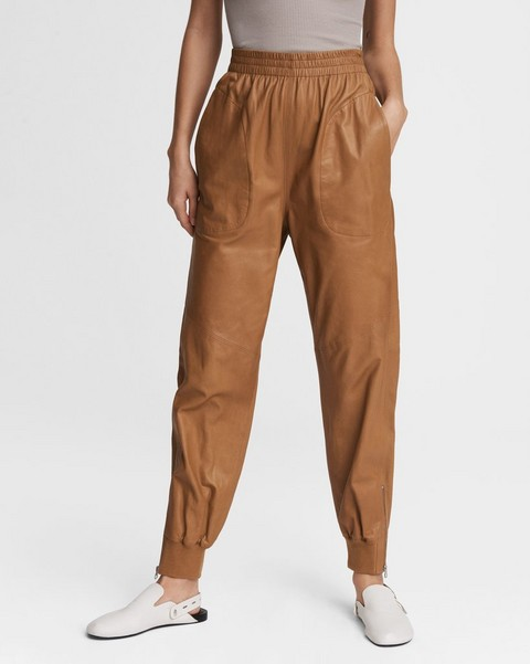RAG & BONE Leather Jogger