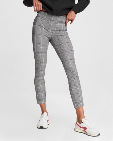 RAG & BONE Simone Pant - Black Check