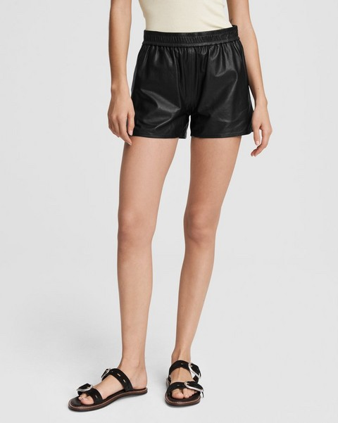 RAG & BONE Brit Leather Short