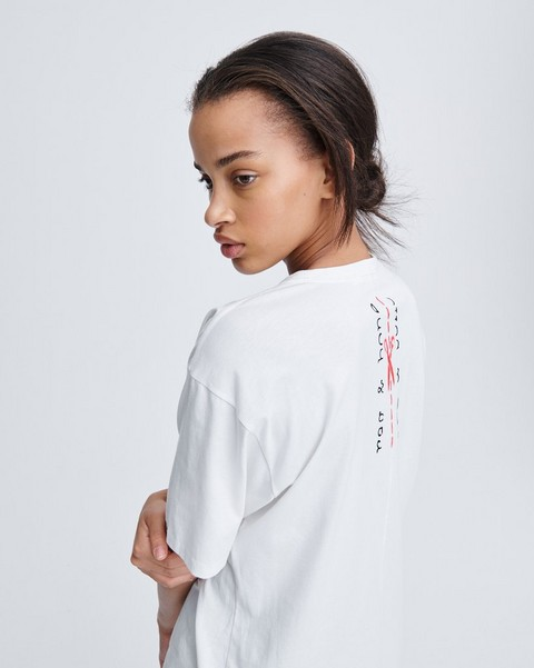 RAG & BONE CUT RB BOY TEE