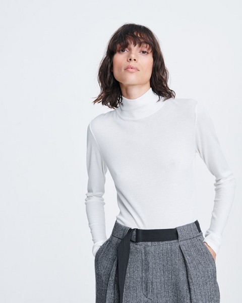 RAG & BONE THE KNIT RIB TURTLENECK