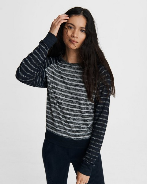 RAG & BONE The Knit Striped Pullover