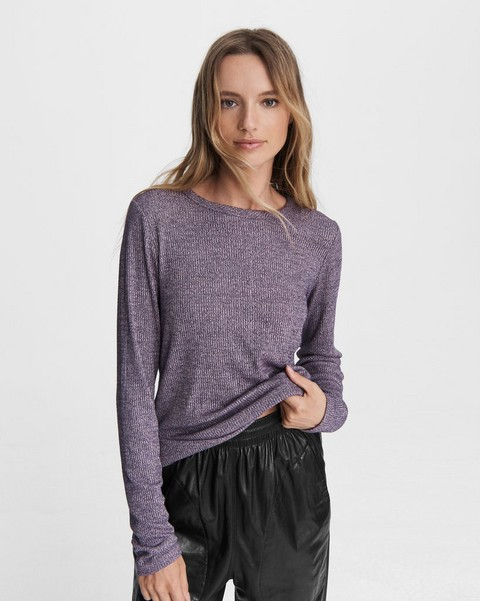 RAG & BONE The Knit Rib Long Sleeve