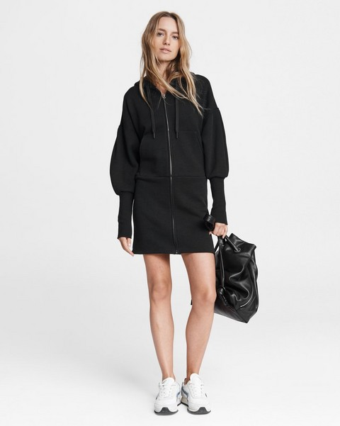 RAG & BONE Forest Hoodie Mini Dress