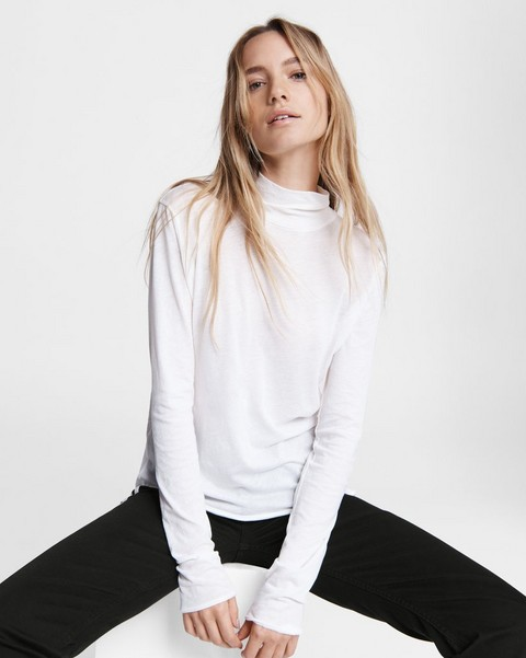 RAG & BONE Gaia Jersey Turtleneck