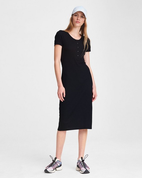 RAG & BONE THE RIB MIDI DRESS