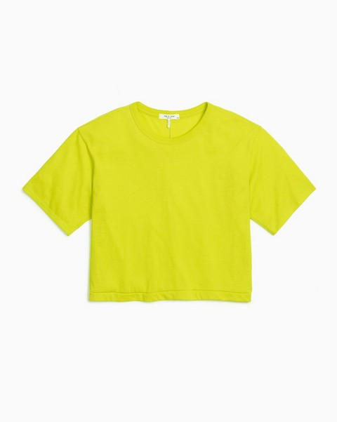 RAG & BONE THE JERSEY CROPPED TEE