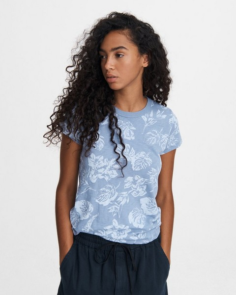 RAG & BONE ALL OVER HAWAIIAN SLUB TEE