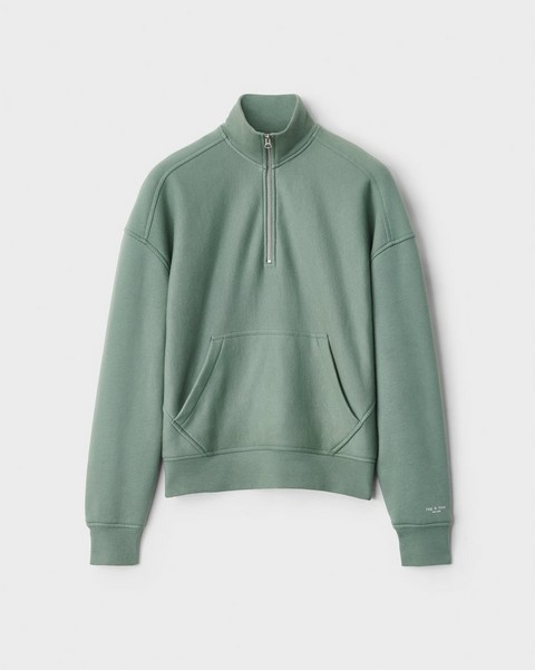 null City Half Zip Terry Pullover