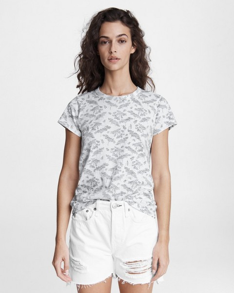 RAG & BONE All Over Summer Floral Jersey Tee