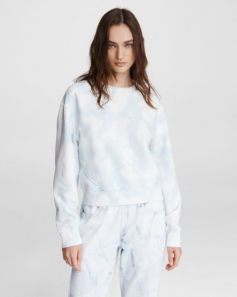 RAG & BONE City Tie Dye Terry Sweatshirt