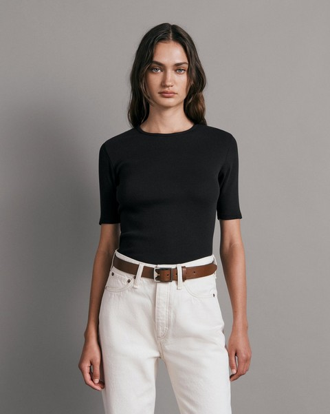 RAG & BONE The Essential Rib Tee