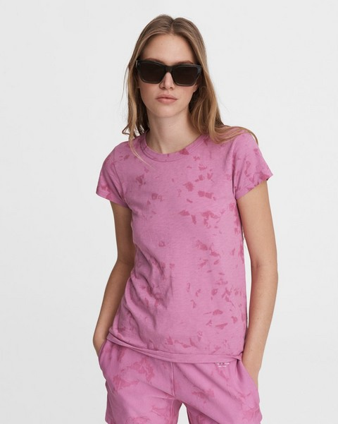 RAG & BONE Tie Dye Cotton Tee