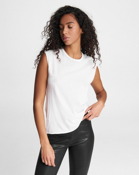 RAG & BONE The Gaia Jersey Muscle Tank