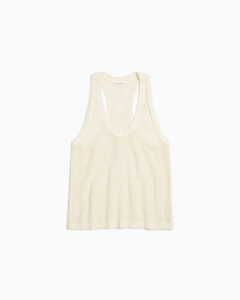 RAG & BONE Jacy Cotton Scoop Neck Tank