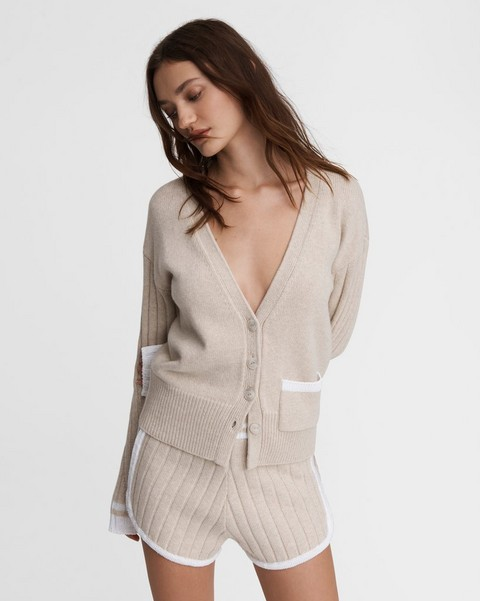 RAG & BONE Serena Wool Blend Cardigan